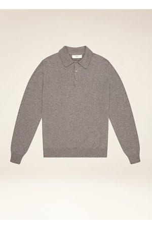 Bally Men Polo Shirts - Cashmere Polo Grey 52