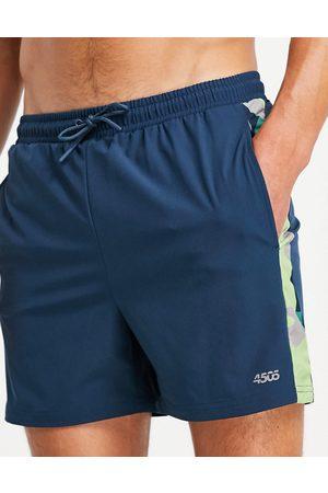 ASOS 4505 swim shorts with camo stripe