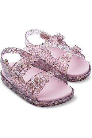 Mini Melissa Girls' Wide Sandals - Walker, Toddler