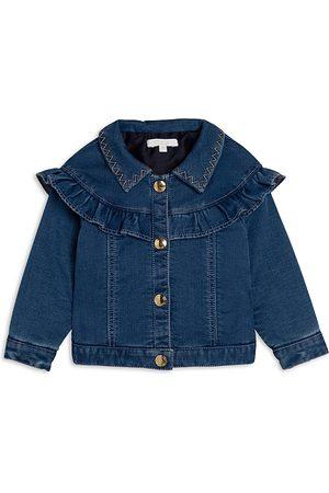 Chloé Unisex Fleece Denim Jacket - Baby