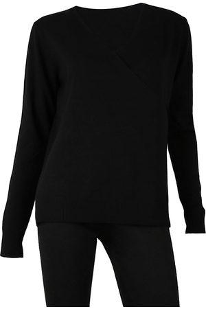 Sioni Faux Wrap Sweater