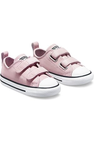Converse Sneakers - Girls' Chuck Taylor All Star Leather Low Top Sneakers - Baby, Walker, Toddler