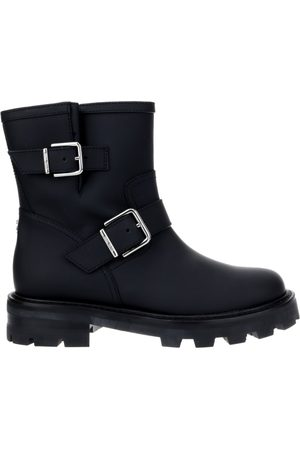 Jimmy Choo Youth Buckled Ankle Boots
