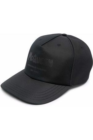 Alexander McQueen Logo-Print Baseball Cap
