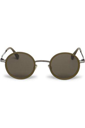 MYKITA Eetu Round Sunglasses Brown
