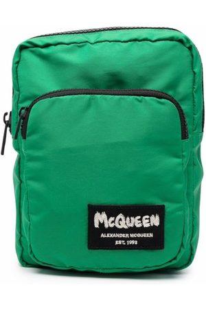 Alexander McQueen Logo-Patch Backpack