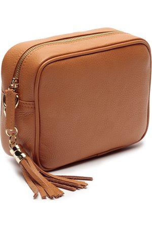 Elie Beaumont Tan Crossbody Bag