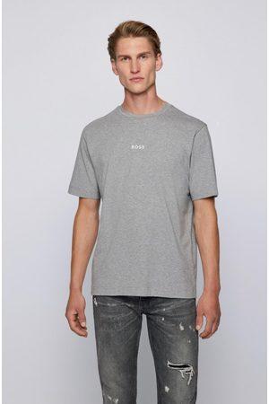 HUGO BOSS Tchup Plain w/Logo Tee L, Colour: Grey
