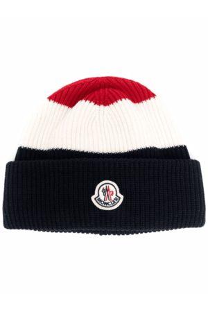 Moncler Tri Colour Bobble Hat