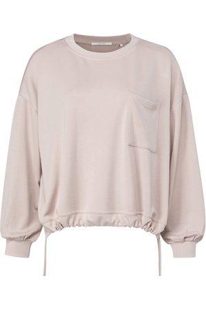 YAYA Mushroom Drawstring Sweater
