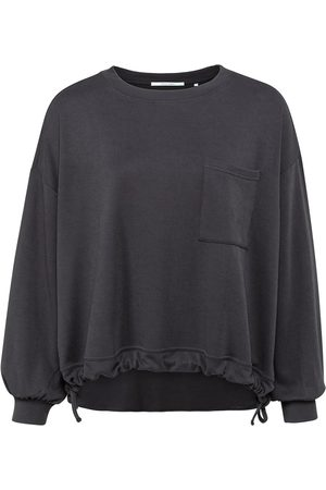 YaYa Obsidian Drawstring Sweater