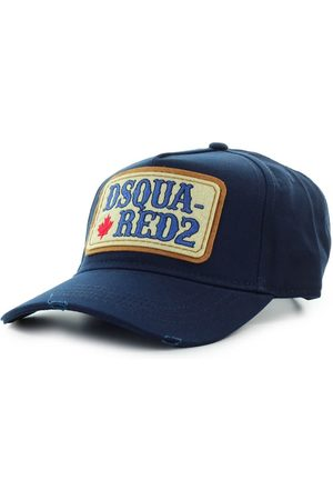 Dsquared2 D2 PATCH WESTERN NAVY BASEBALL CAP