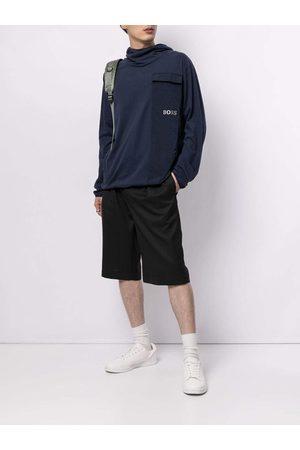 Hugo Boss BOSS Logo-print cotton hoodie