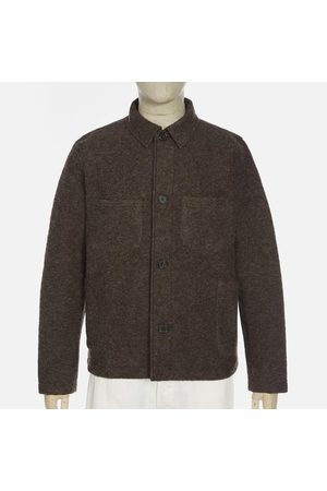 Universal Works Wool Fleece Lumber Jacket - Brown