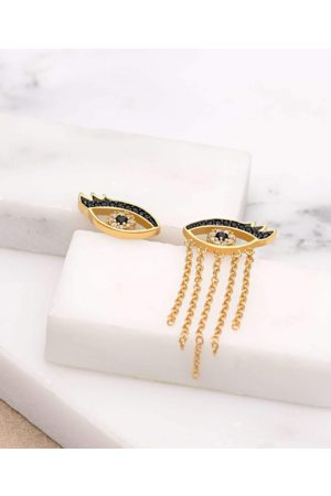 Scream Pretty Crying Eyes Mismatched Stud Earrings