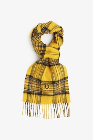 Fred Perry Authentics Fred Perry Stewart Tartan Scarf - Chrome