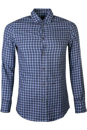 Dsquared2 Checked Cotton Flannel Shirt