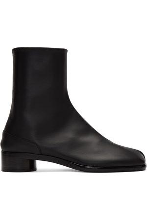 Maison Margiela Tabi boot black leather