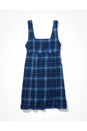 American Eagle Outfitters Square-Neck Mini Dress Women's S