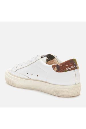 Golden Goose Platform Sneakers - Kids' Leather Upper Star And Heel Trainers