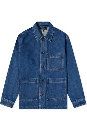 A.P.C. Men Denim Jackets - Nathanael Denim Work Jacket