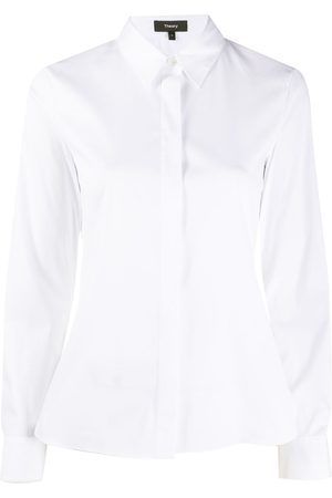 THEORY Women Long sleeves - Fitted long-sleeve shirt
