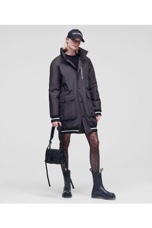Karl Lagerfeld Women Parkas - KARL LOGO PARKA