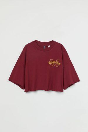 H&M Women Crop Tops - Graphic Design Crop T-shirt