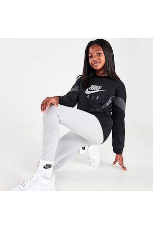 Nike Girls Sports Leggings - Girls' Sportswear Favorites Graphic Leggings Size Small Cotton