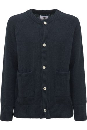 Lc23 Mohair Blend Knit Cardigan