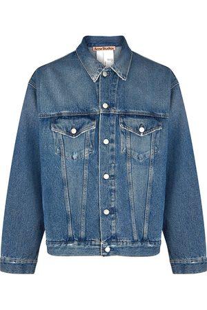 Acne Studios Robin blue denim jacket