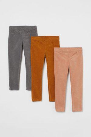 H&M Jeans - 3-pack Corduroy Treggings