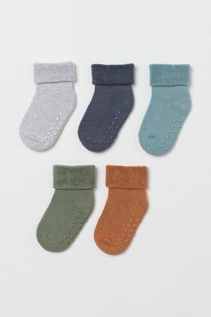 H&M Socks - 5-pack Terry Socks