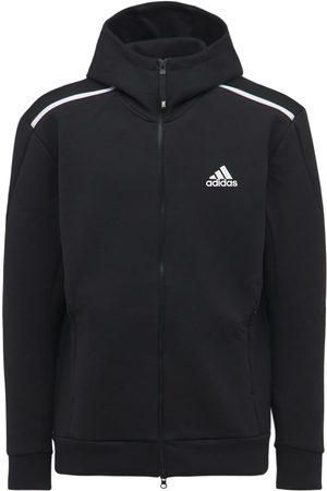 adidas Men Hoodies - Z.n.e. Cotton Blend Sweatshirt Hoodie