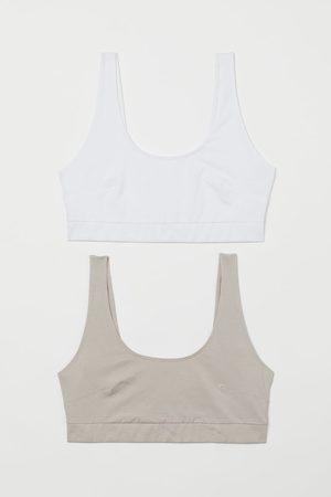 H&M Women Bras - + 2-pack bra tops