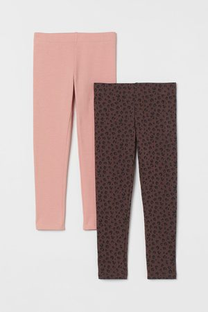 H&M 2-pack Thick Jersey Leggings