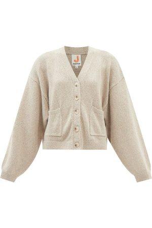 JoosTricot V-neck Cotton-blend Cardigan - Womens