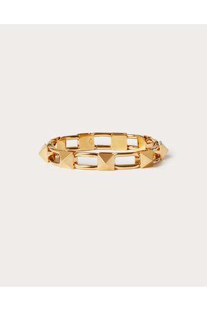 VALENTINO GARAVANI Women Bracelets - Metal Rockstud Bracelet Women 100% Brass L