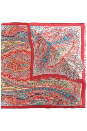 Etro Women Scarves - Paisley-print cashmere scarf