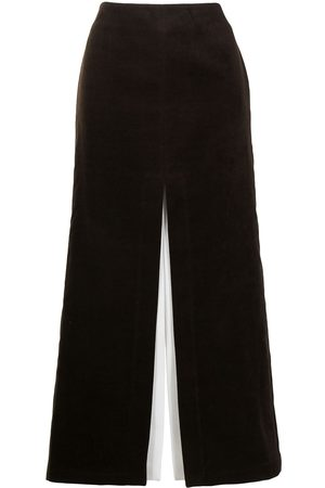 Proenza Schouler Layered split skirt