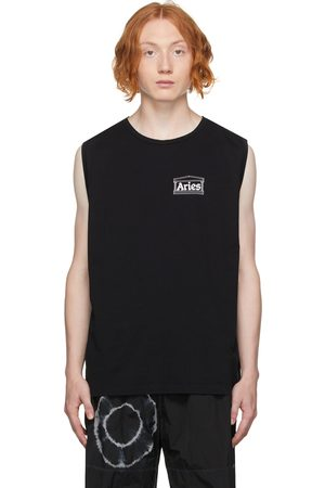 ARIES Low Armhole Muscle Sleeveless T-Shirt