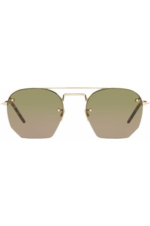 Saint Laurent Men Aviators - SL 422 rimless aviator sunglasses