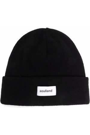 Soulland Beanies - Villy logo-patch beanie