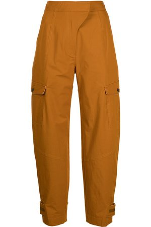 JONATHAN SIMKHAI Women Cargo Pants - Heidi tapered cargo trousers