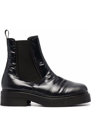 Marni Chelsea square-toe boots