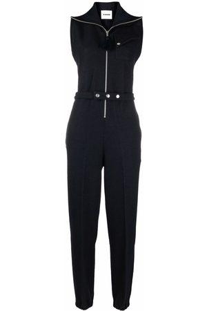 Jil Sander Women Jumpsuits - Sleeveless tapered jumpsuit