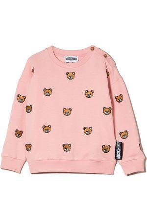 Moschino Hoodies - Teddy Bear cotton sweatshirt