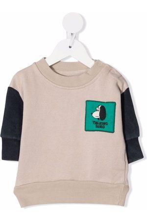 Bobo Choses Sweatshirts - Talking Bobo sweatshirt - Neutrals