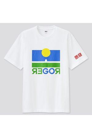UNIQLO Men Short Sleeve - Men's Short-Sleeve Graphic T-Shirt (Roger Federer), , XS