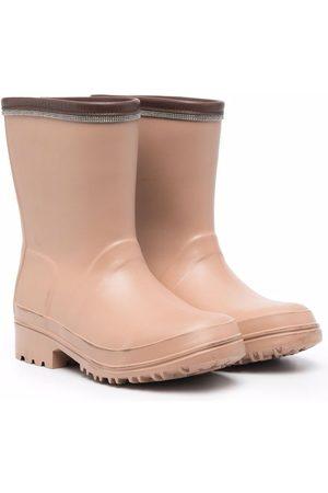 Brunello Cucinelli Tonal wellie boots - Neutrals